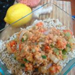 Lemon Ginger Red Lentils