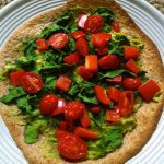 Avocado Tortilla Pizza