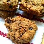 flourless PB & J snack cookies
