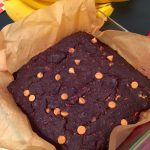 chocolate PB chip oat bars [vegan +GF]