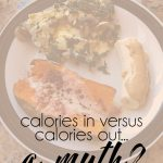 Calories In Versus Calories Out [WIAW]