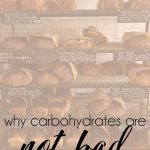 Carb is not a four letter word