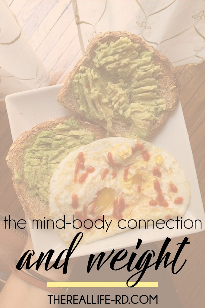 The Mind Body Connection + Weight