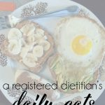 Pulling My Life Together {Daily Eats}