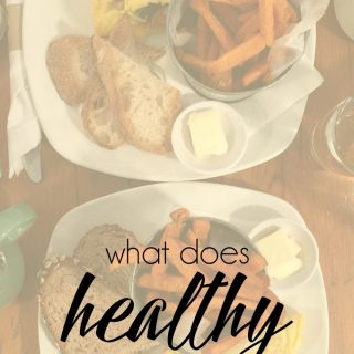 What does healthy even mean?