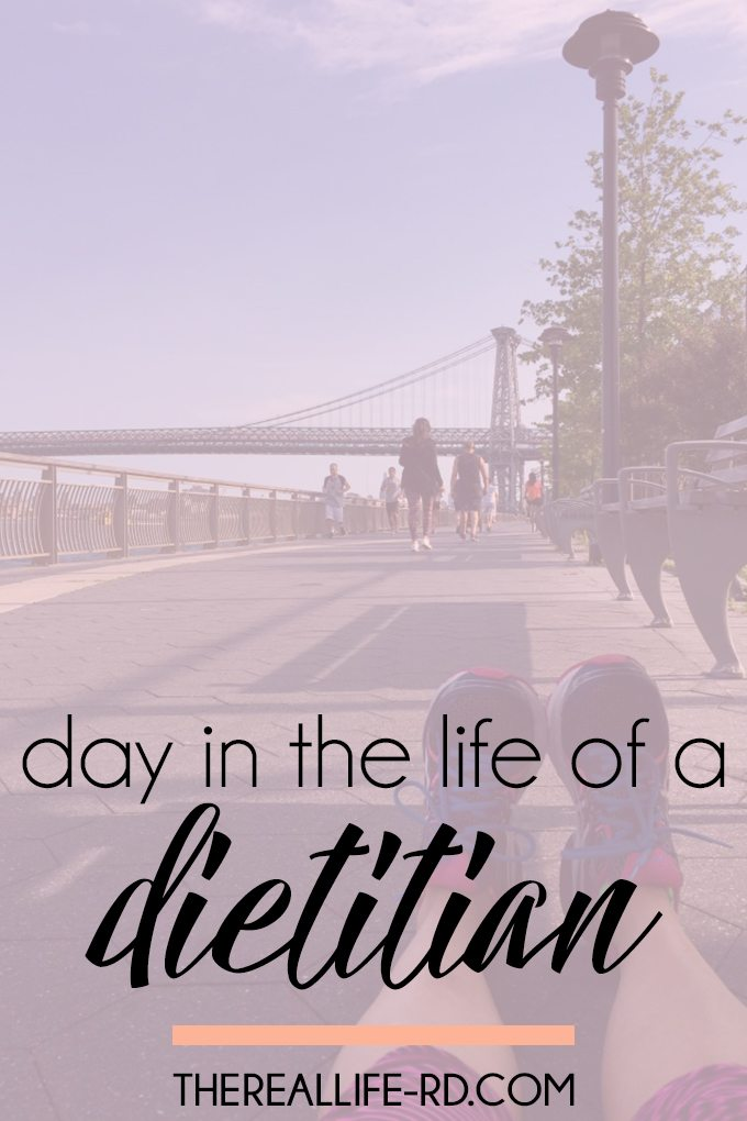 Wondering what a dietitian does in a day? Here you go! | The Real Life RD