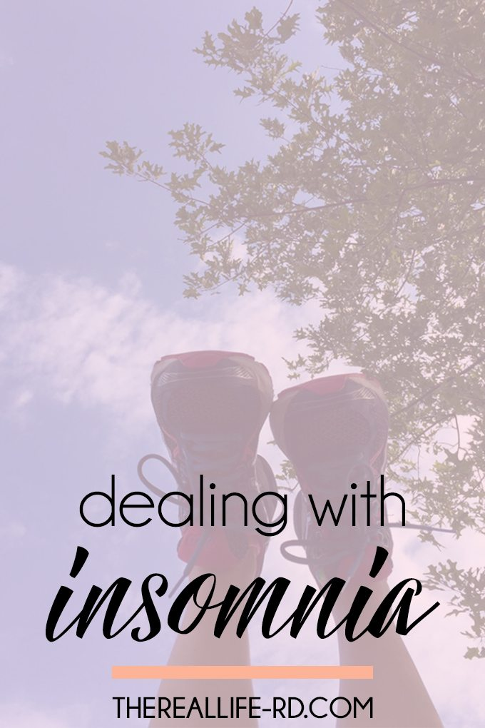 Here's how I've been dealing with insomnia. | The Real Life RD