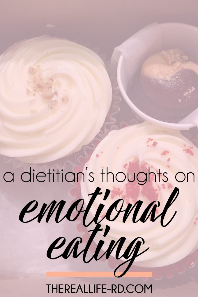 Is emotional eating healthy? Here's what I think... | The Real Life RD
