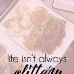 Life isn't glittery