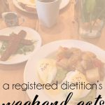 weekend eats {recap}