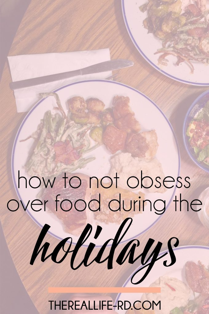 Live out the holidays instead of obsessing