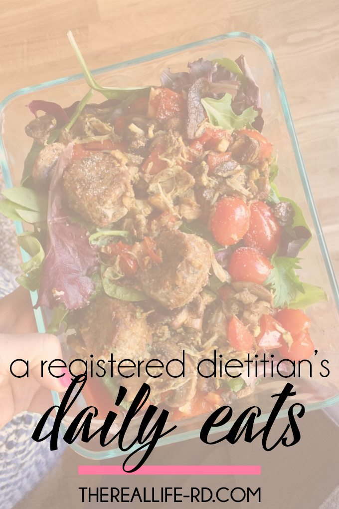 Ever wonder what a dietitian & nurse eats in a day? | The Real Life RD