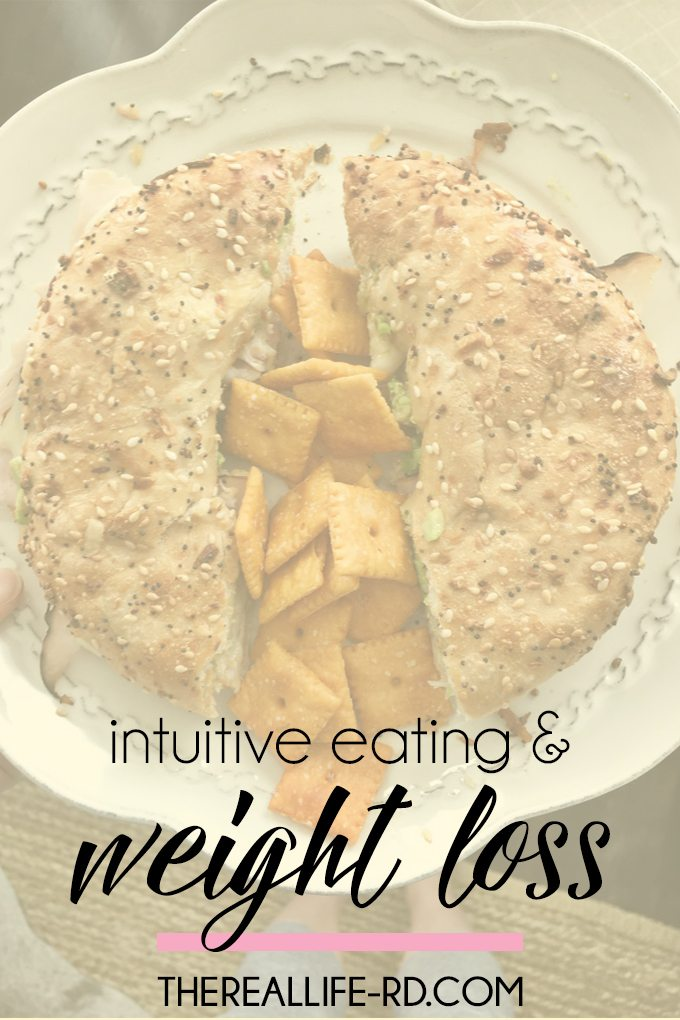 How do intuitive eating & weight loss go together? | The Real Life RD