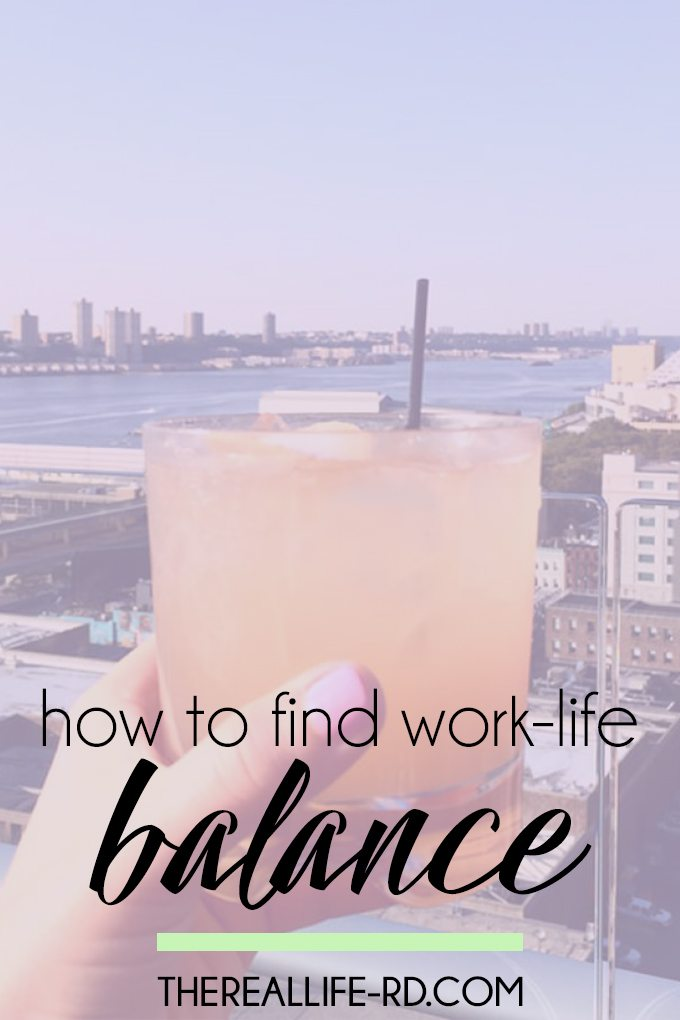 Work, maybe school, self-care, relationships...it's a balancing act. | The Real Life RD
