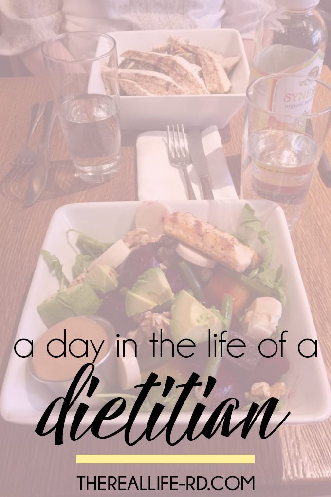 Tastings, meet-ups with other RDs, and lots of satisfying food. The best days!   The Real Life RD