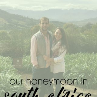 our honeymoon in South Africa