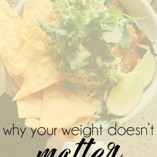 Your Weight Doesn't Matter