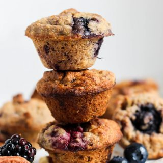Summertime Berry Mini Muffins