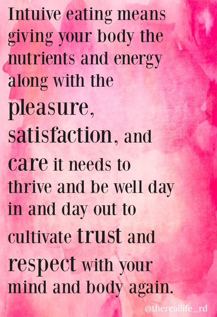 intuitive eating quote