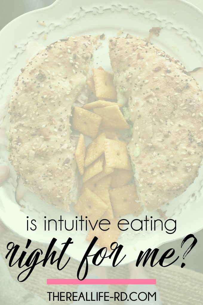 How do you know if intuitive eating is right for you? | The Real Life RD