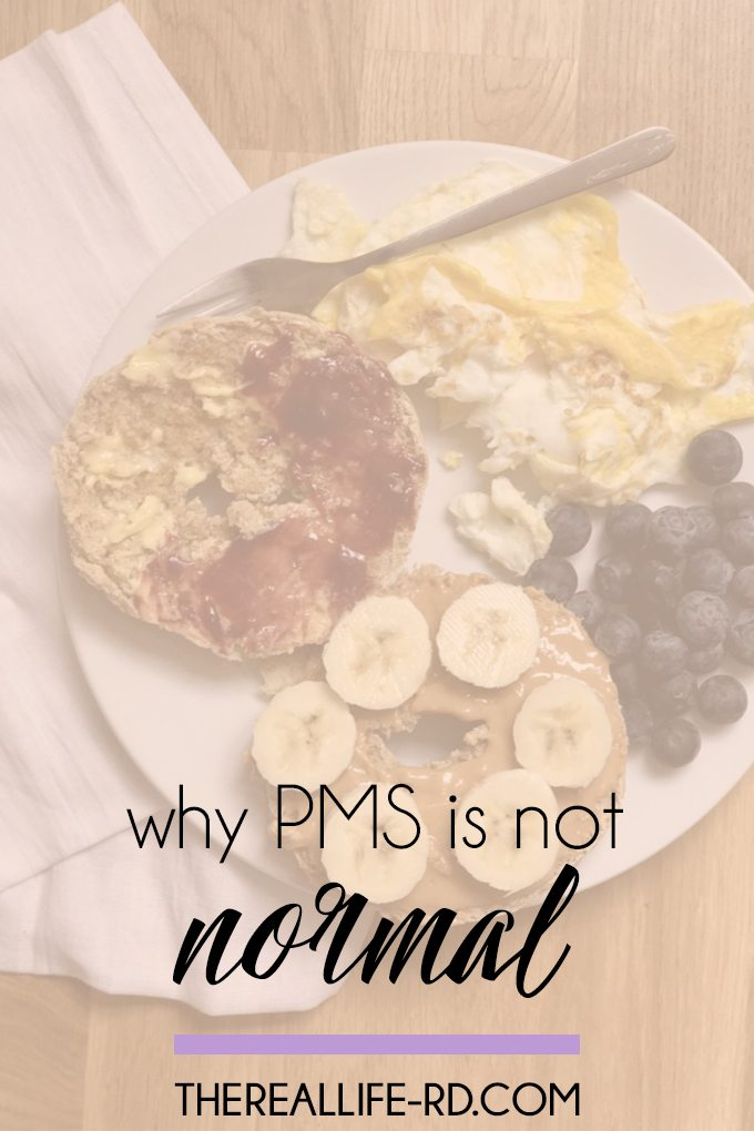Everything you thought you knew about PMS may not be right. | The Real Life RD