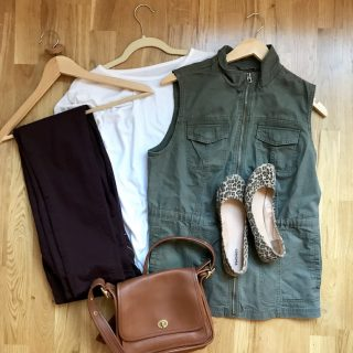 Fall Capsule Wardrobe {on a budget}