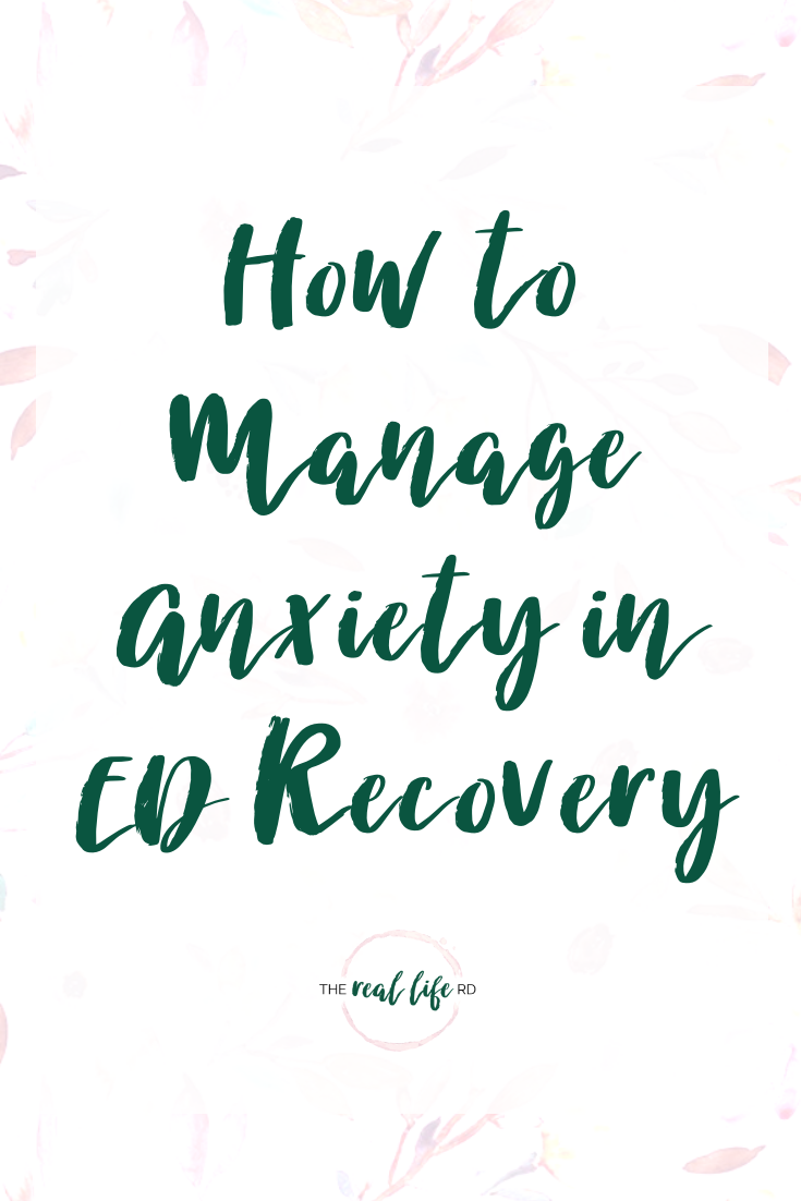 How to Manage Anxiety in ED Recovery